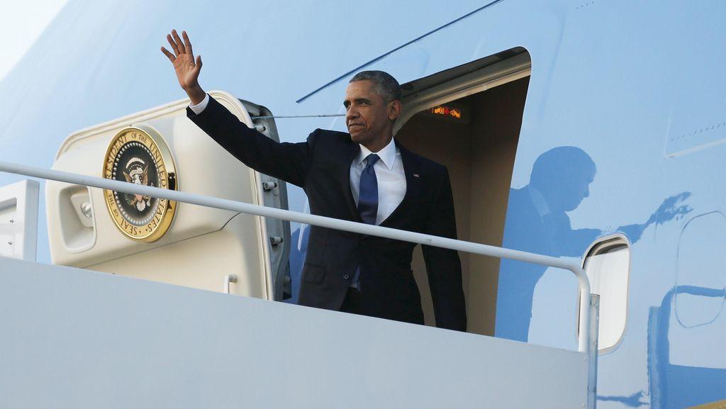 Obama Terbang ke Yerusalem Hadiri Pemakaman Shimon Peres