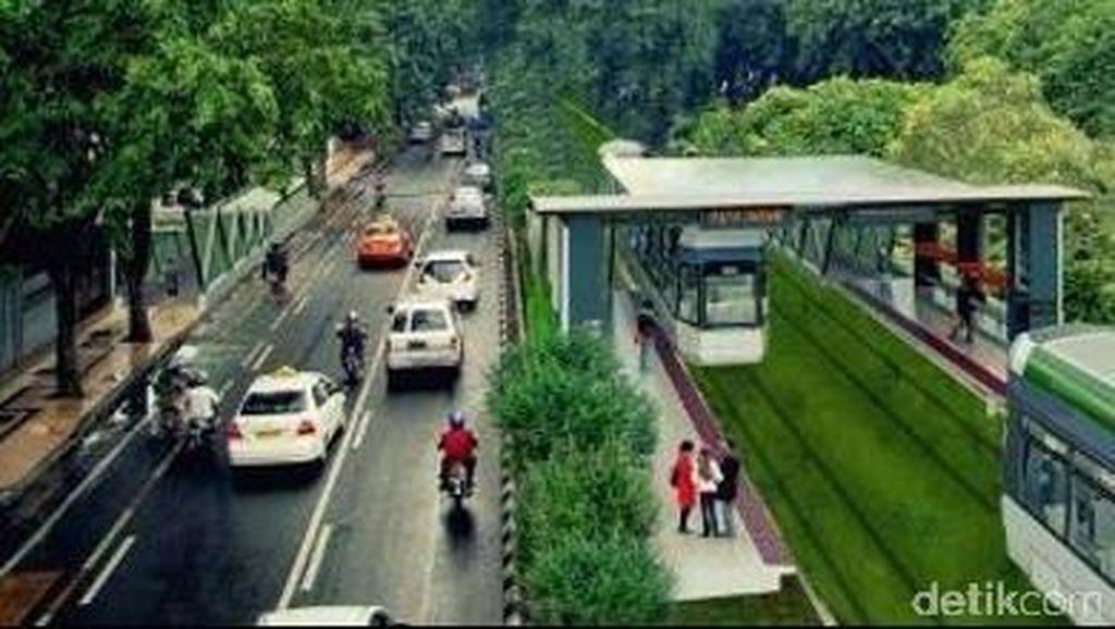 Menteri Jonan Sebut Proyek Trem Surabaya Dikerjakan Tahun ini