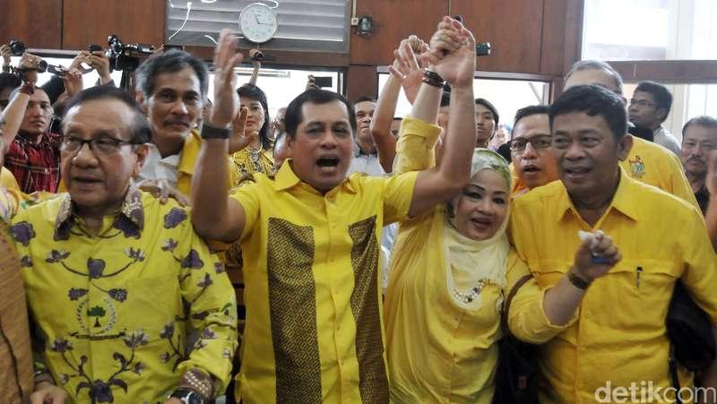 Datangi KPU, Golkar Munas Bali Minta Kelonggaran Pendaftaran Pilkada