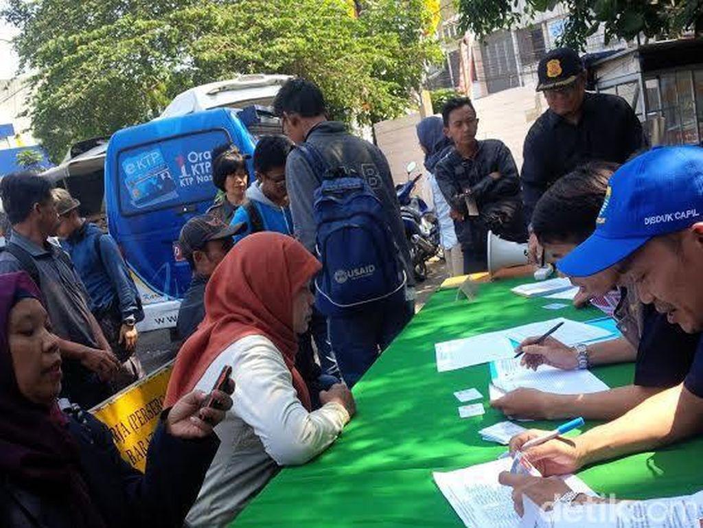 Ratusan Pendatang ke Kota Bandung Kena Operasi Yustisi