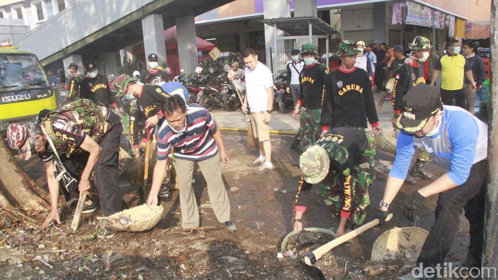 Bima Ancam Cabut Kartu Kuning Pedagang Pasar Anyar Bogor yang Jualan di Luar Kios