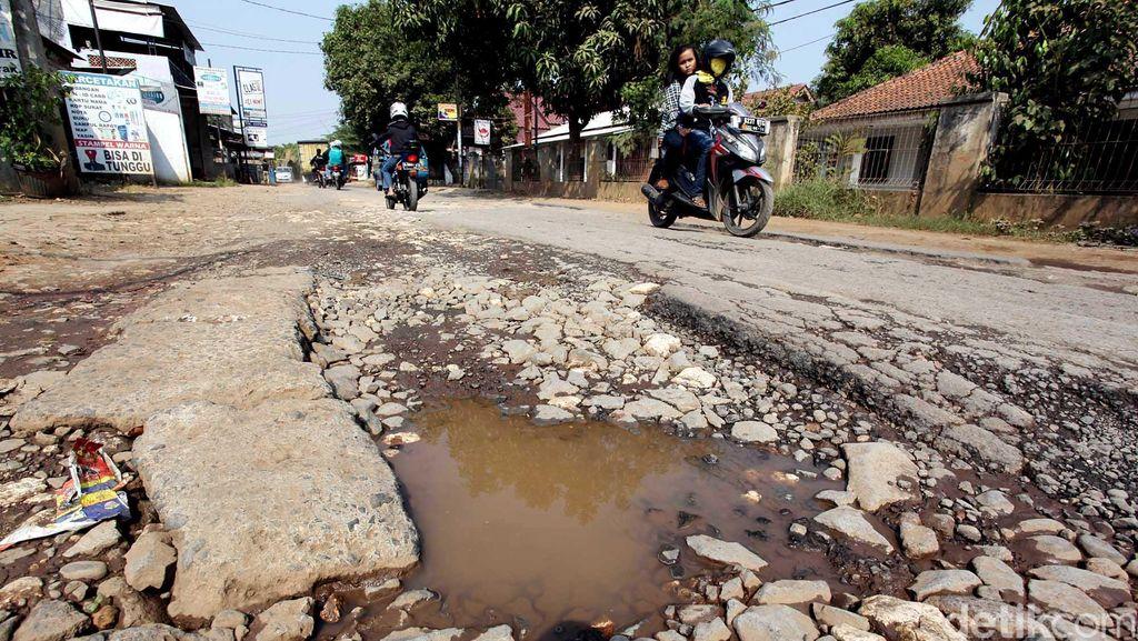 Kabar Baik untuk Warga Bogor, 551 Kilometer Jalan Rusak Mulai Diperbaiki