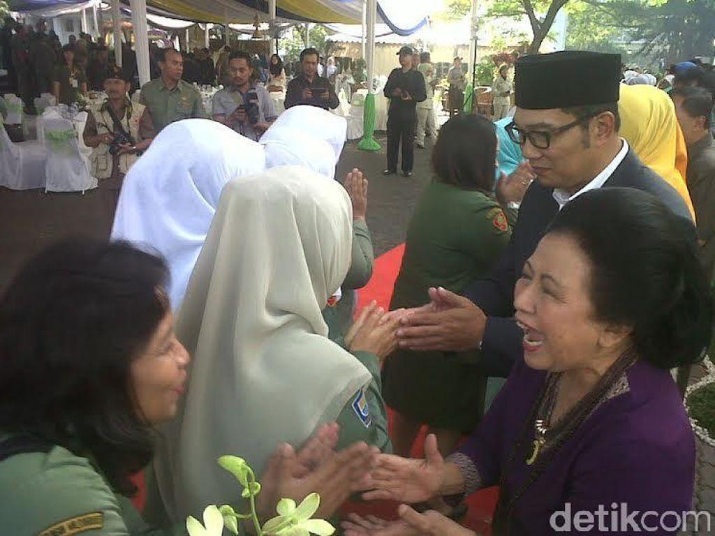 Halalbihalal, Ridwan Kamil Nasihati Ribuan PNS Bandung