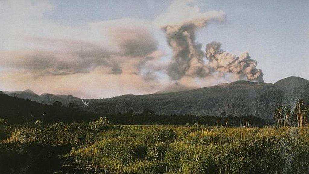 Bandara Gamar Malamo Ditutup Kembali Imbas Abu Vulkanik Gunung Dukono