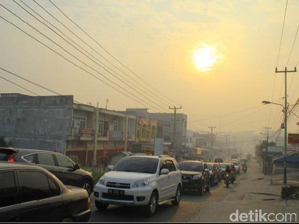 Gawat! Akibat Asap, Udara di Pekanbaru di Level Tidak Sehat