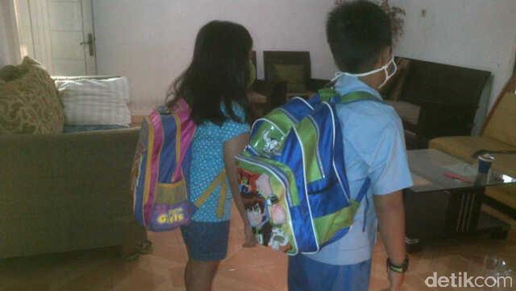 Anak SD Keberatan Tas Ransel Kala Sekolah, Ini Dampaknya Kata Dokter