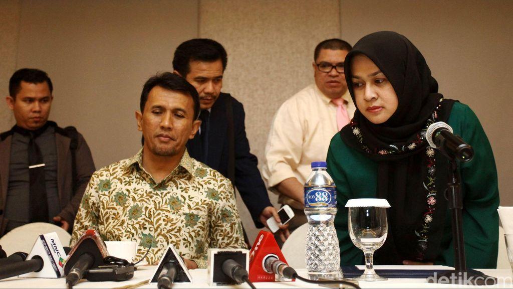 Gubernur Gatot dan Evy Penuhi Panggilan KPK, Bungkam Ditanya Soal Penahanan
