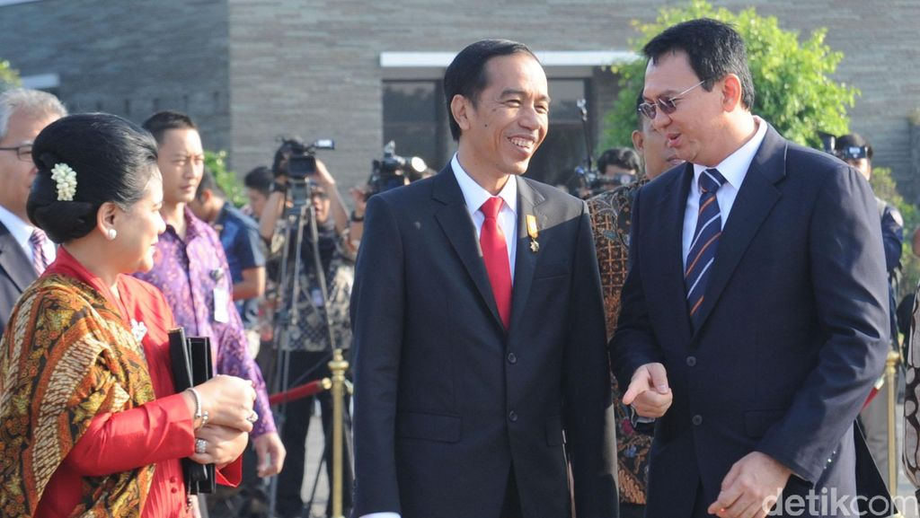 Ini Obrolan Ahok dengan Presiden Jokowi di Bandara Halim
