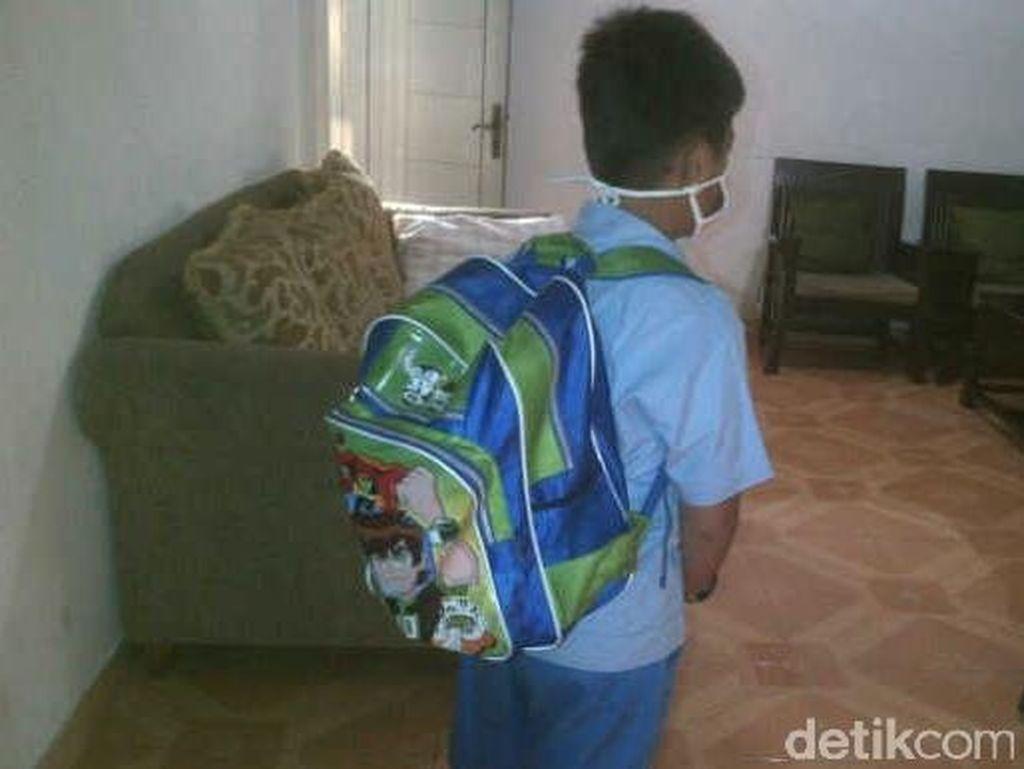 Soal Tas Sekolah Berat, ini Solusi Orangtua Siswa
