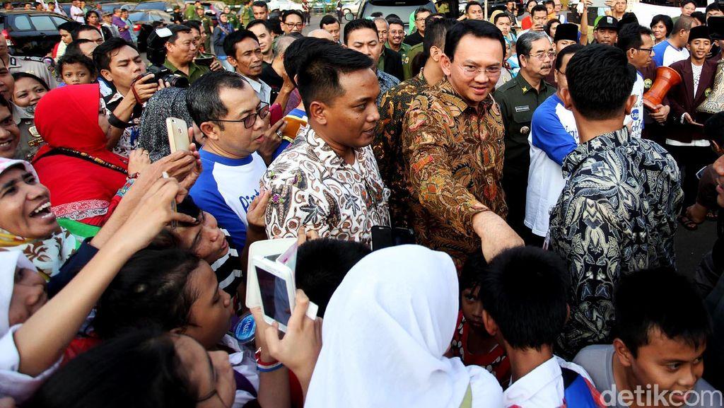Ahok: Kalau Warga Kampung Pulo Mau Gugat, Silakan Saja!