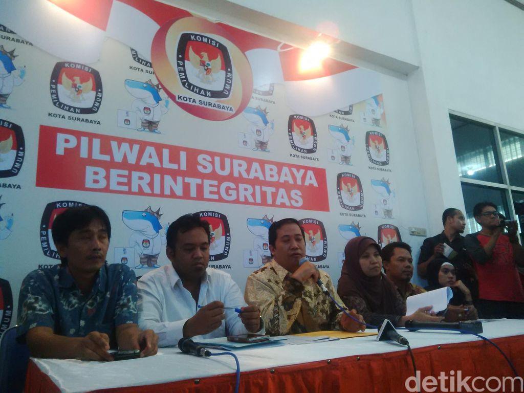 Pendaftaran Ditutup, Tak Ada Penantang Risma-Wisnu di Pilwalkot Surabaya