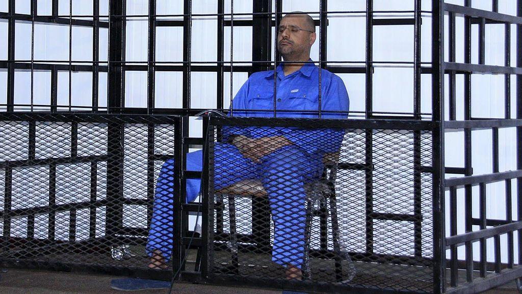 Putra Khadafi Divonis Mati di Libya