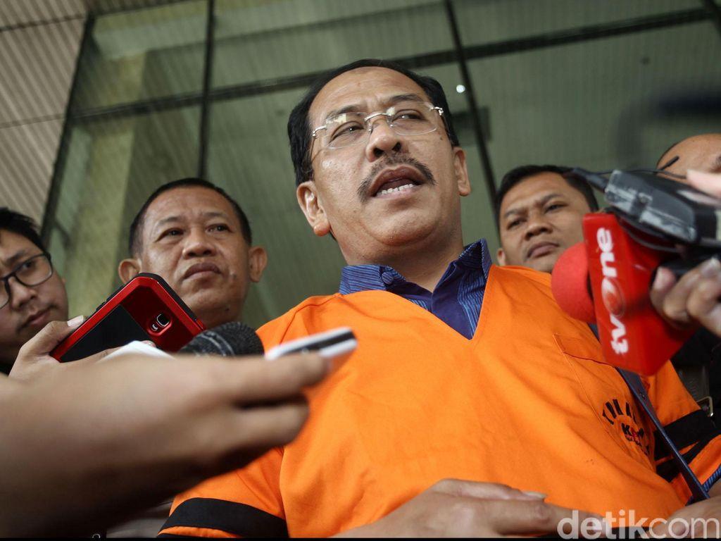 KPK Perpanjang Masa Penahanan Eks Wali Kota Makassar Ilham Arief