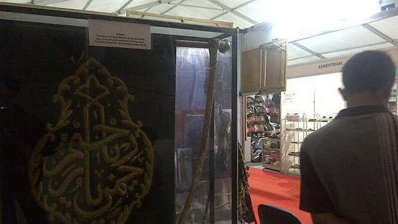 Tongkat Ulama Pendiri NU Hingga Seragam Banser Dipajang di NU Expo