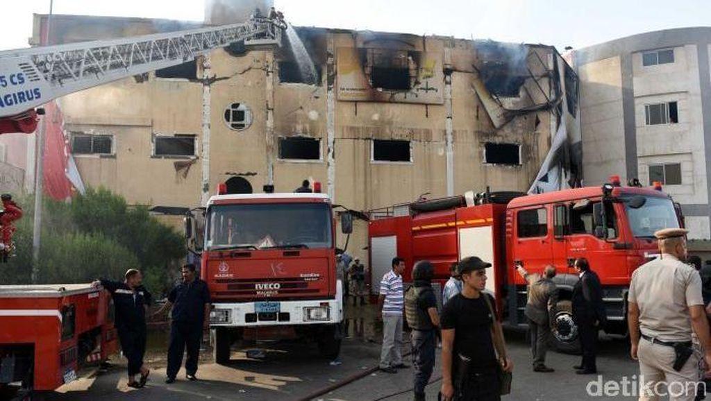 Pabrik Perabotan di Mesir Kebakaran, 25 Orang Tewas