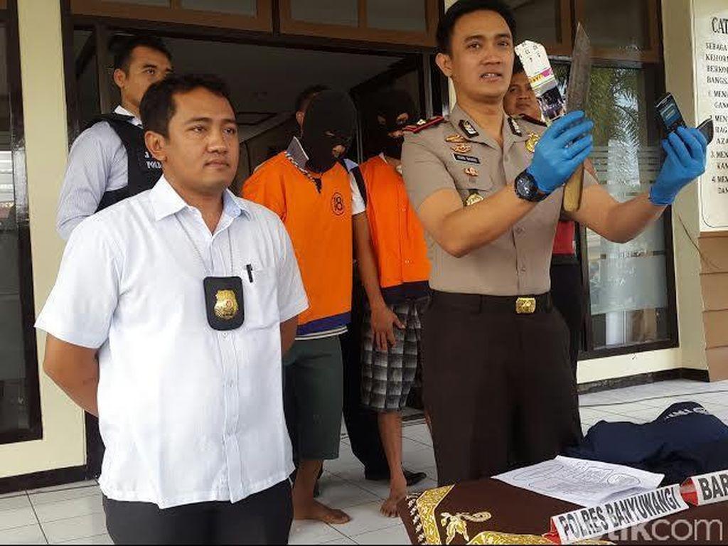 Residivis Kambuhan Lulusan LP Kerobokan Ditangkap Polres Banyuwangi
