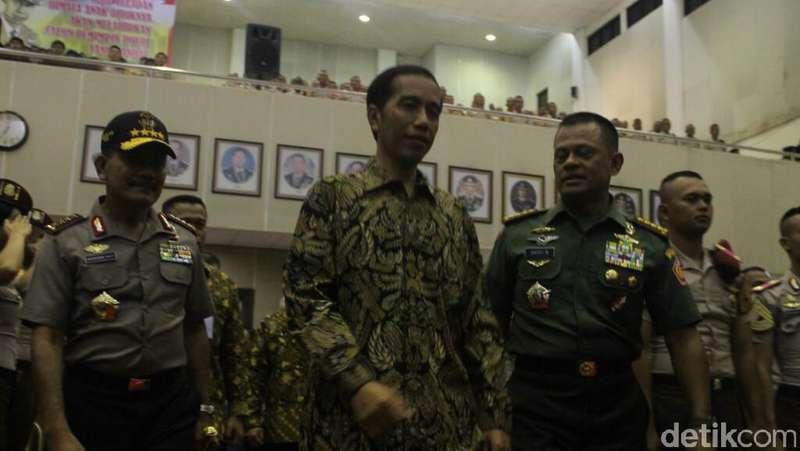 Di Depan Ratusan Capaja, Jokowi Ingatkan Jangan Berjiwa Korsa Sempit