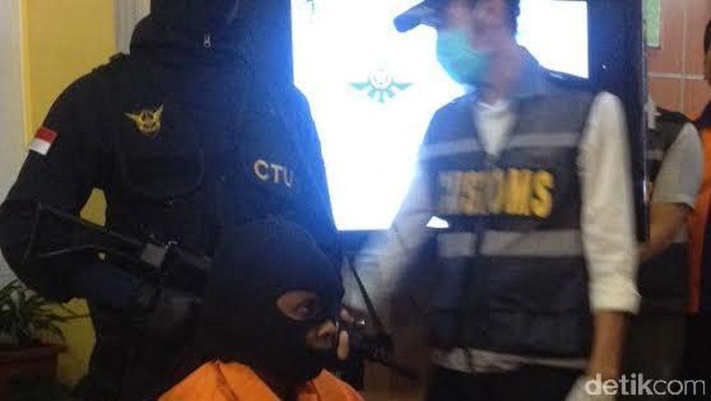 Selundupkan Heroin dengan Ditelan, WNA Tanzania Ditangkap