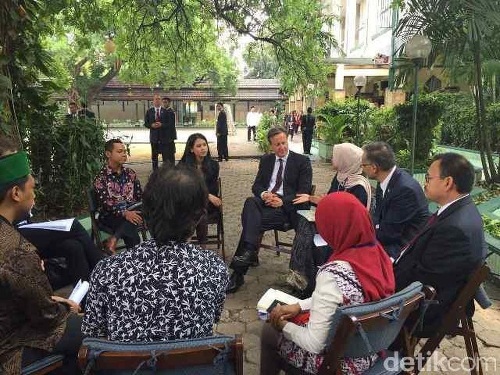 Maarif Institute Mempertanyakan PM David Cameron