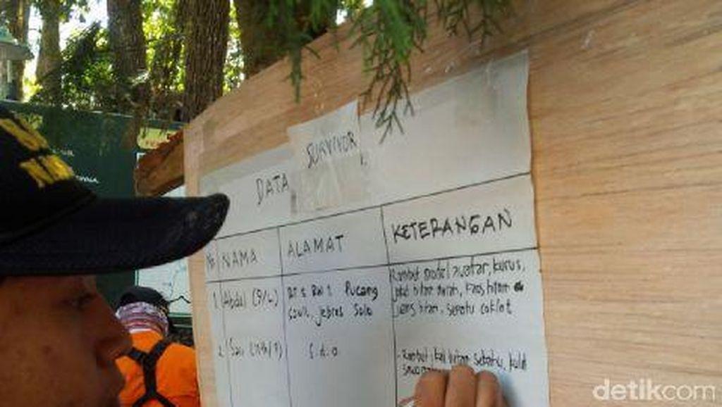 7 Remaja dan Anak yang Hilang Kontak di Gunung Lawu Ditemukan Selamat