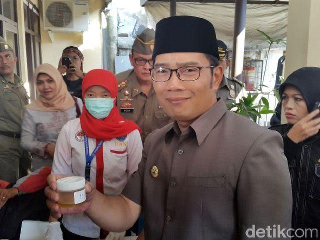 Ridwan Kamil Dites Urine BNN, Hasilnya Muncul Setrip Dua