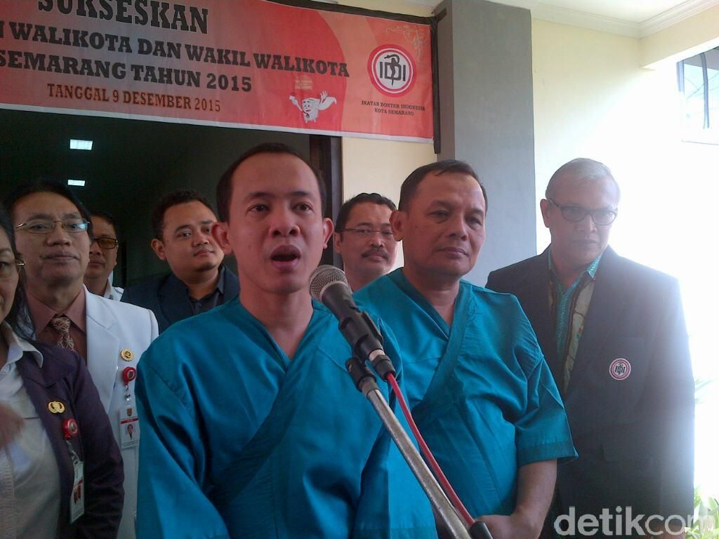 3 Pasangan Calon Pilwakot Semarang Jalani Tes Kesehatan Bak Capres