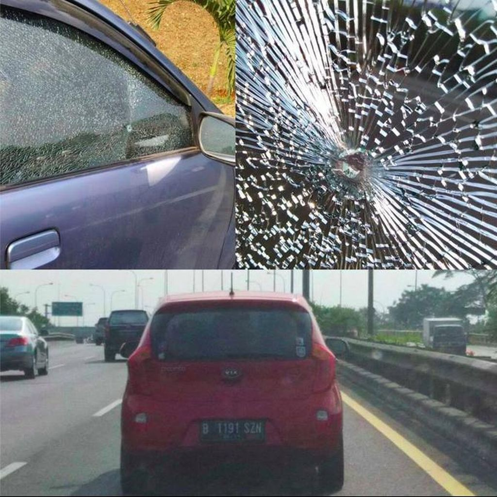 Porgasi: Penembak Mobil Keluarga di Tol JORR Gunakan <i>Air Gun</i>