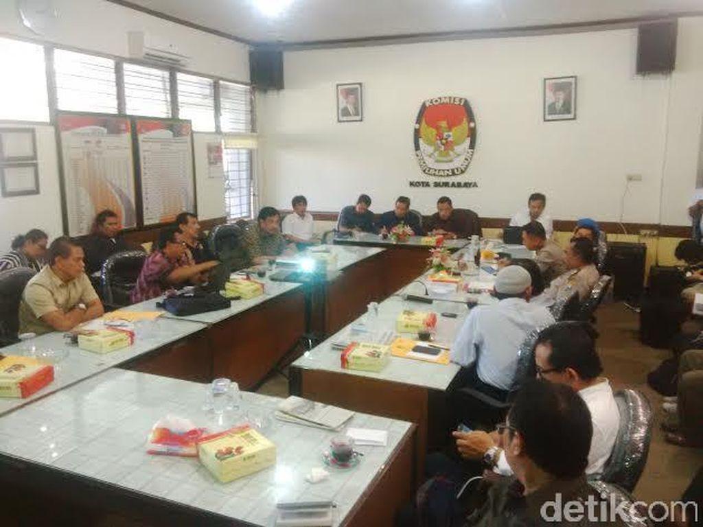 Sosialisasi Pengunduran Pendaftaran Pilkada Surabaya Jadi Ajang Curhat