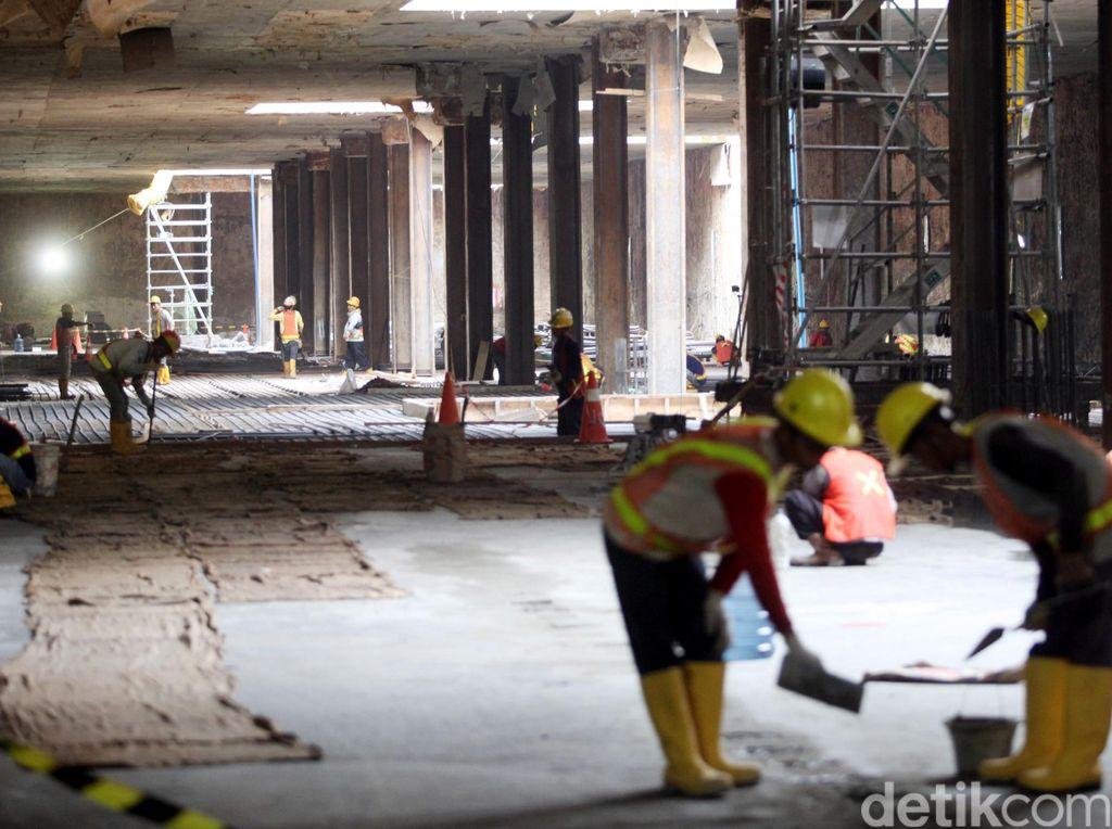 Ini Cara Mencegah Banjir Masuk ke Stasiun Bawah Tanah MRT di Sudirman