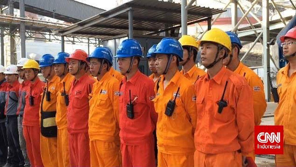 Jokowi Minta Syarat Bisa Bahasa Indonesia untuk Pekerja Asing Dihapus