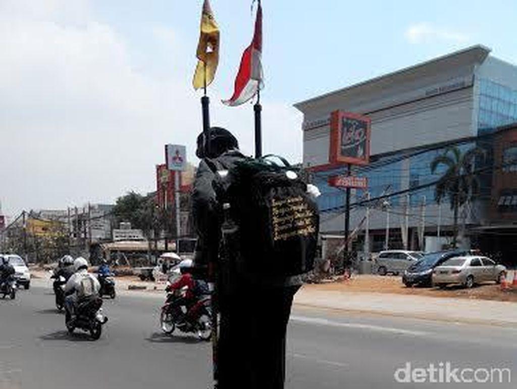 Kisah Yudi yang Naik Enggrang dari Yogya Demi Temui Jokowi