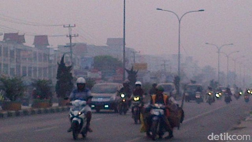 25,6 Juta Penduduk Jadi Korban Bencana Asap, Terberat Jambi dan Pekanbaru