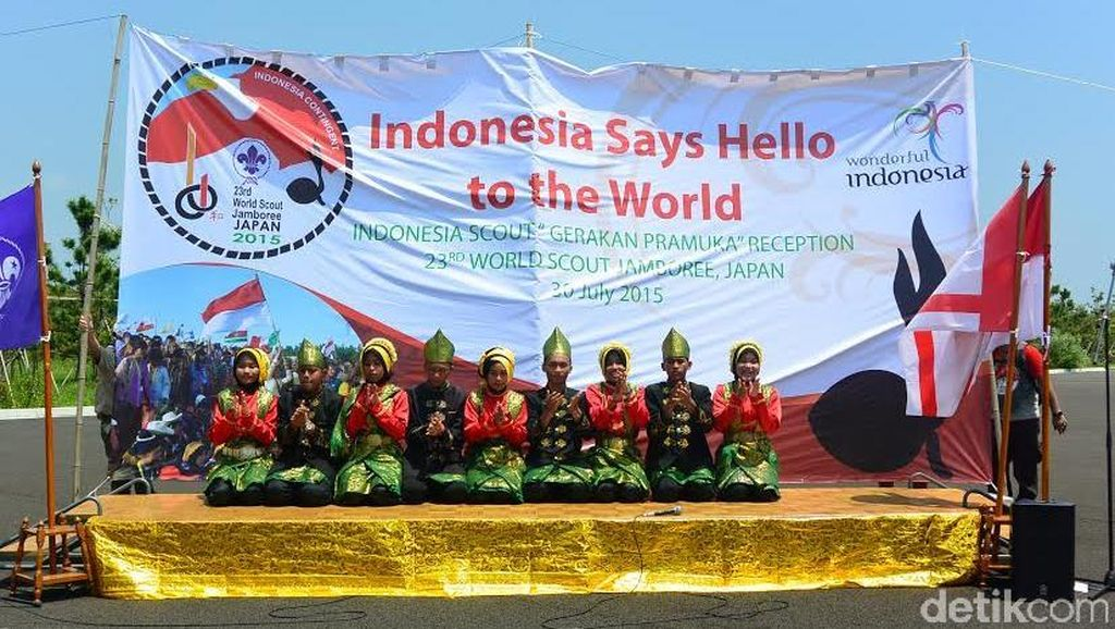 Indonesia Berkesempatan Gelar Indonesia Day di Jambore Pramuka Internasional