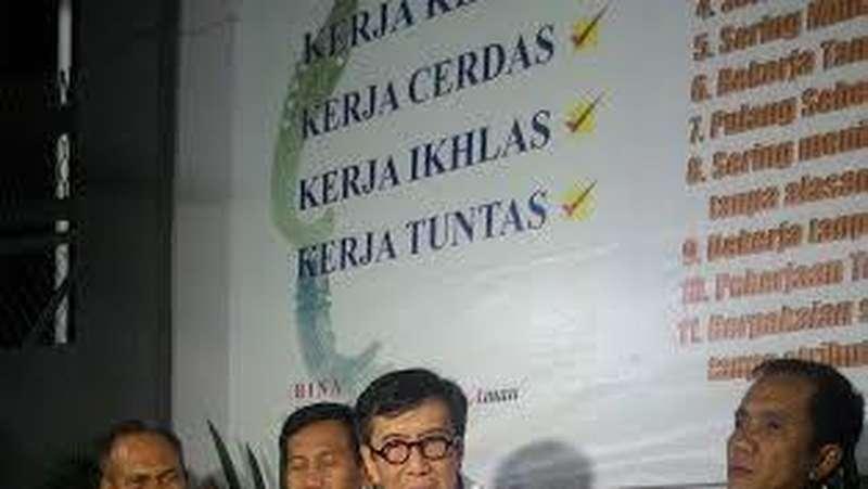 Menkum HAM dan Ketua Komnas HAM Sidak Lapas Paledang Bogor