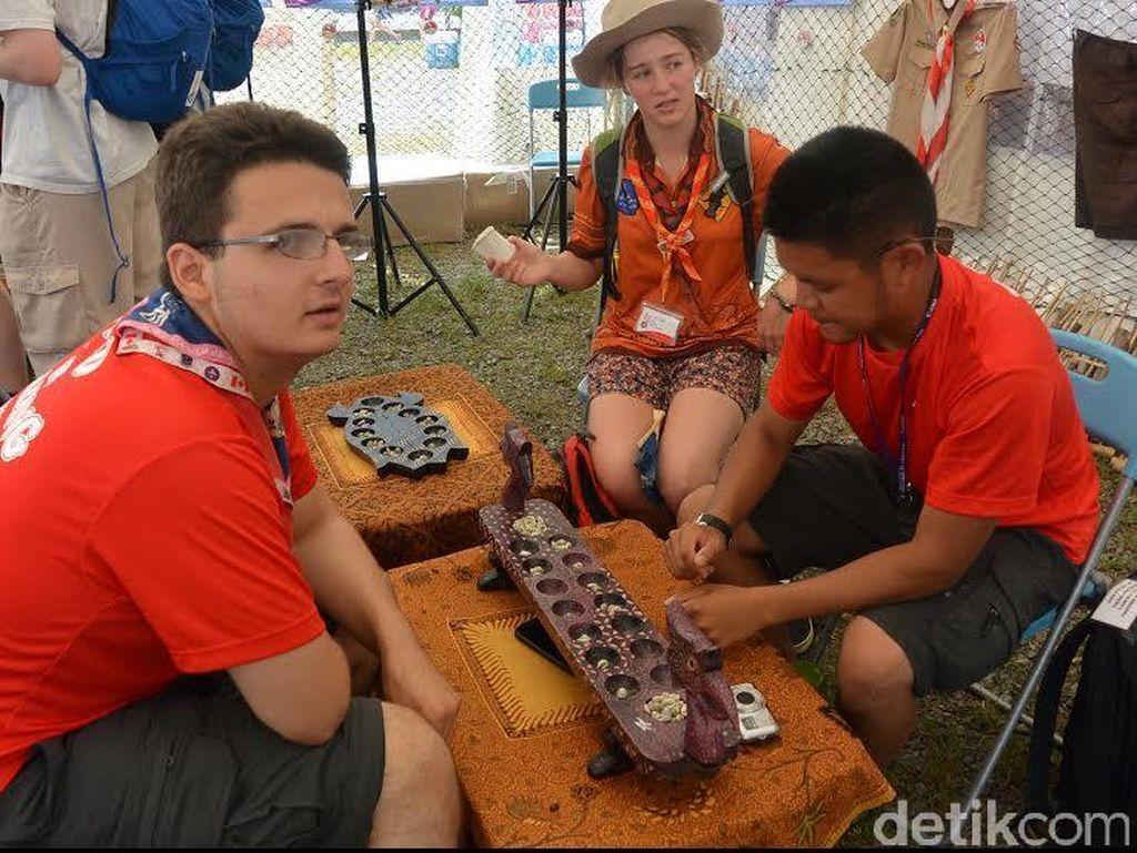 Stand Budaya Indonesia di Jambore Jepang Padat Pengunjung
