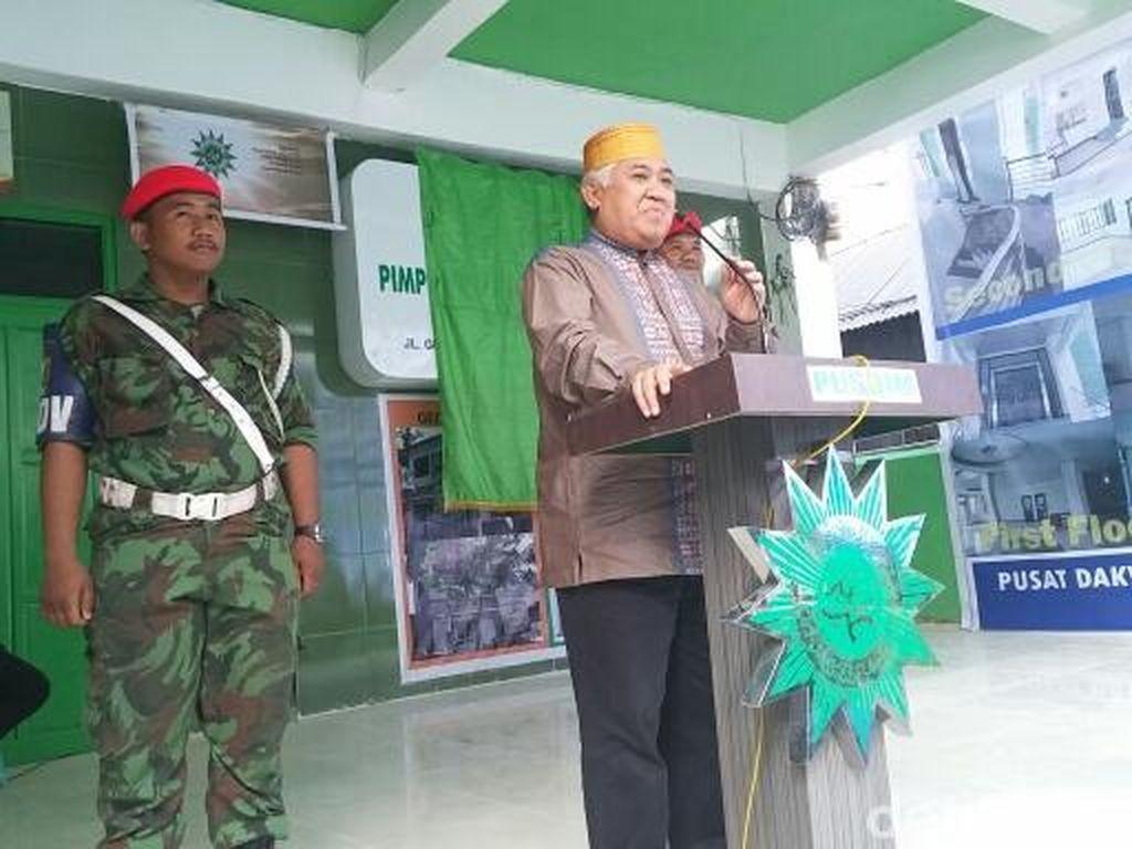 Lepas Jabatan, Din Syamsuddin Pilih Jadi Ketua Ranting di Kelurahannya
