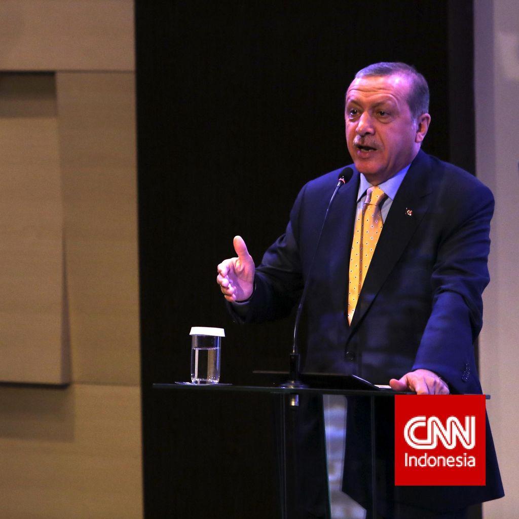 Temui Pimpinan DPR, Presiden Erdogan Bahas Reformasi PBB