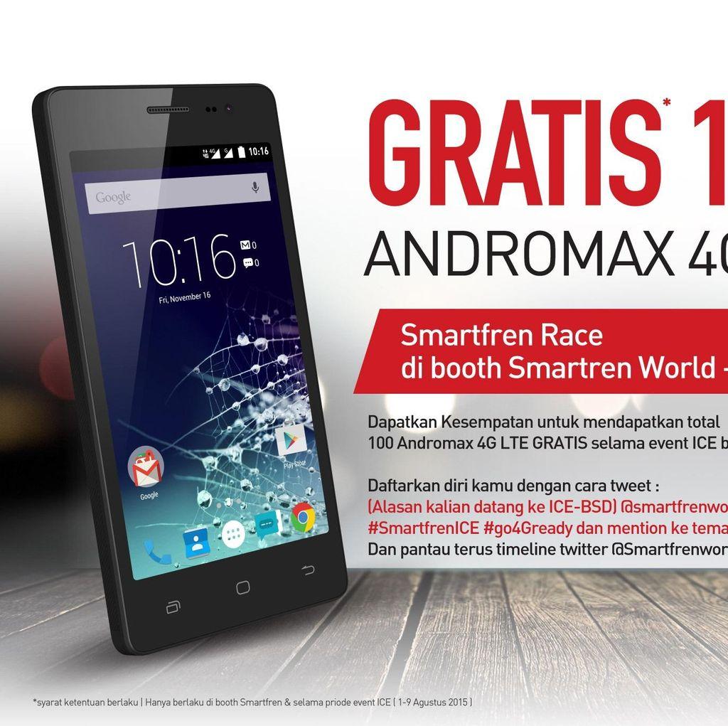 Ayo Ke ICE BSD dan Dapatkan Andromax 4G LTE Gratis!