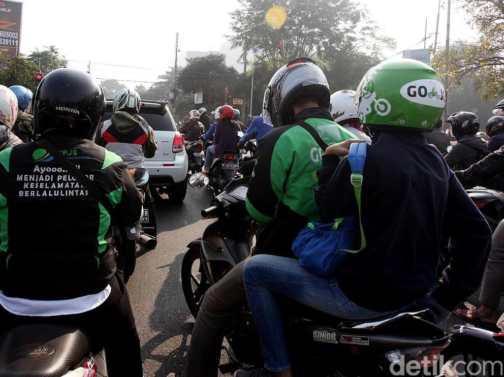 Cegah Kekerasan Terkait Go-Jek, Polisi Awasi Tiap Pangkalan Ojek