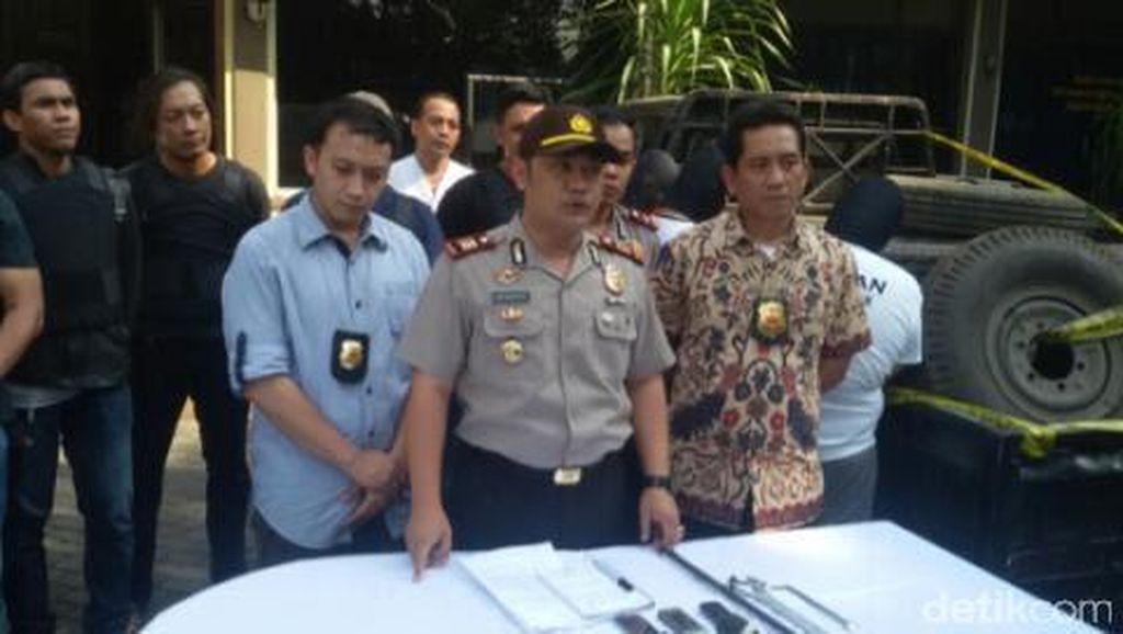 Polisi Ringkus Pelaku Pencurian Ban Serep Truk Lintas Wilayah