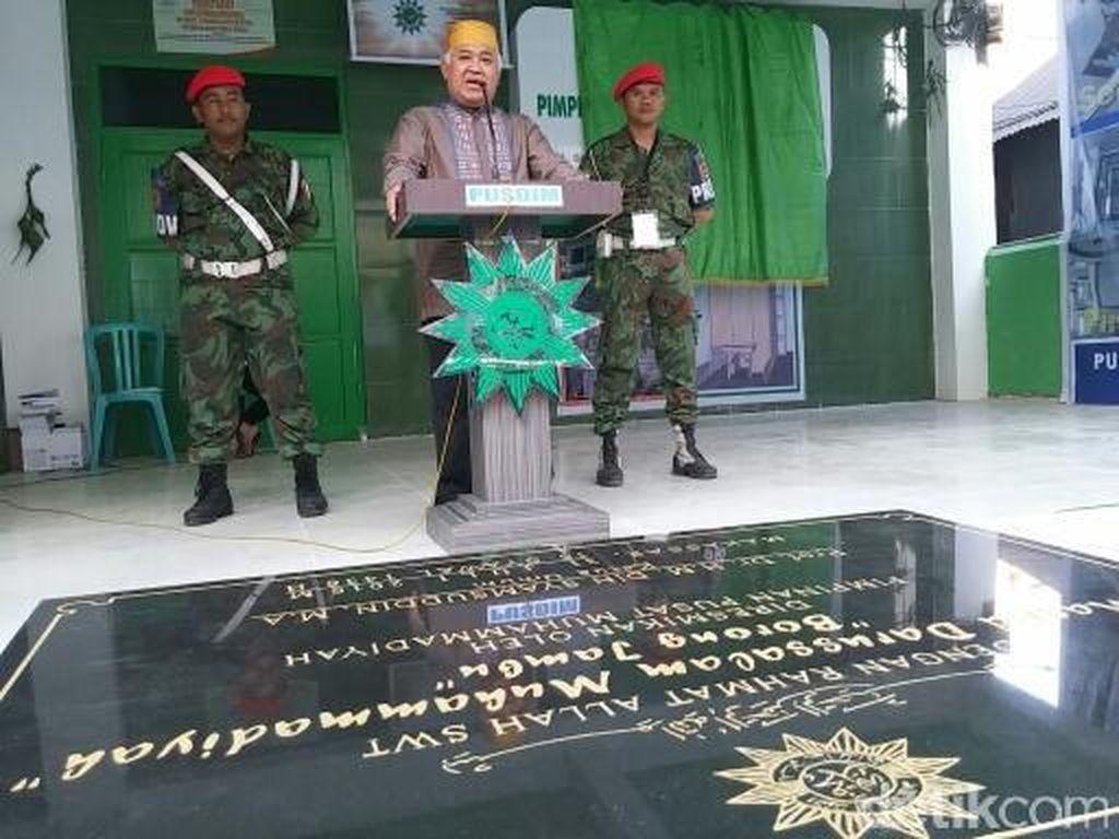 Din Syamsuddin Resmikan Pusat Dakwah Muhammadiyah di Makassar