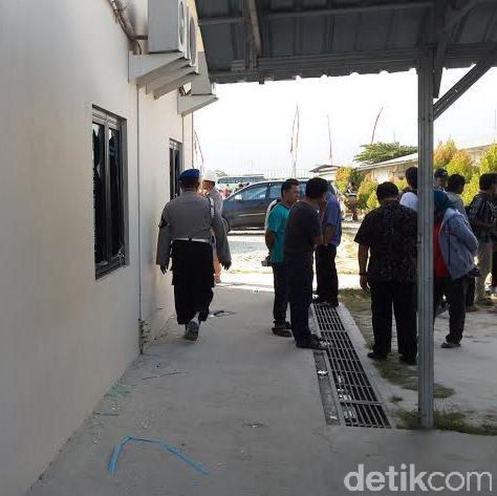 Polisi Periksa Saksi dan CCTV Pasca Kerusuhan di Blok Cepu