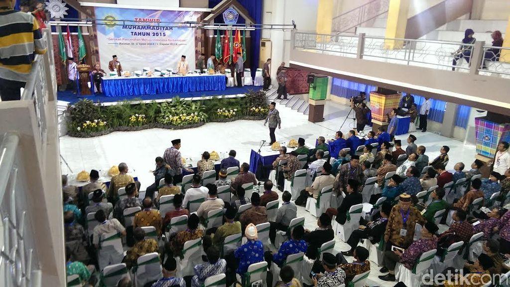 Pemilihan 39 Calon Tetap PP Muhammadiyah Berlangsung Tertib