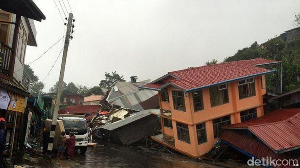 PBB Ingatkan Korban Jiwa Akibat Banjir Myanmar Akan Bertambah