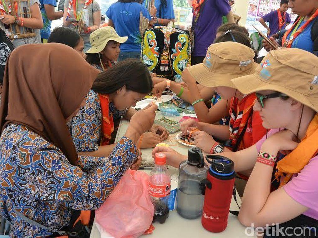 Cuaca Panas Ekstrim, Acara Outdoor Jambore Dunia Dihentikan Sementara