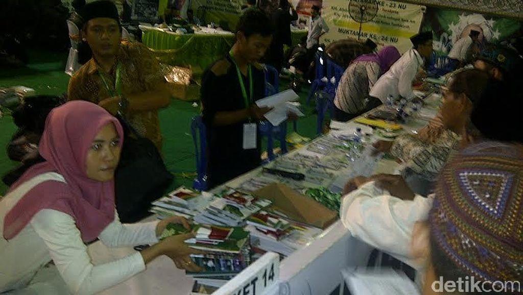 Pendaftaran Peserta Muktamar NU di Jombang Memanas, Dihentikan Sementara