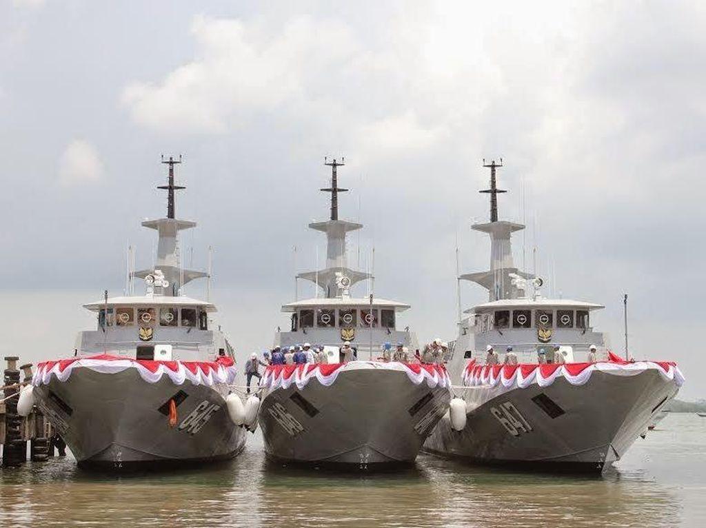 Lihat, ini 3 Kapal Perang Milik Armabar Produksi Dalam Negeri