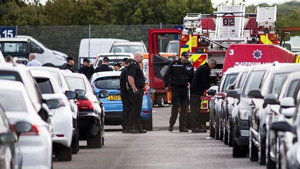 Polisi Inggris Selidiki Jatuhnya Jet yang Tewaskan Keluarga Bin Laden