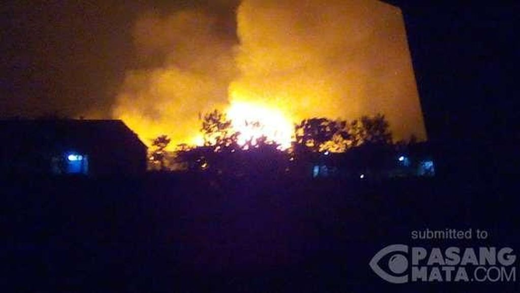 Kebakaran Pabrik Kiky, Polisi: Kerugian Diperkirakan Rp 325 M
