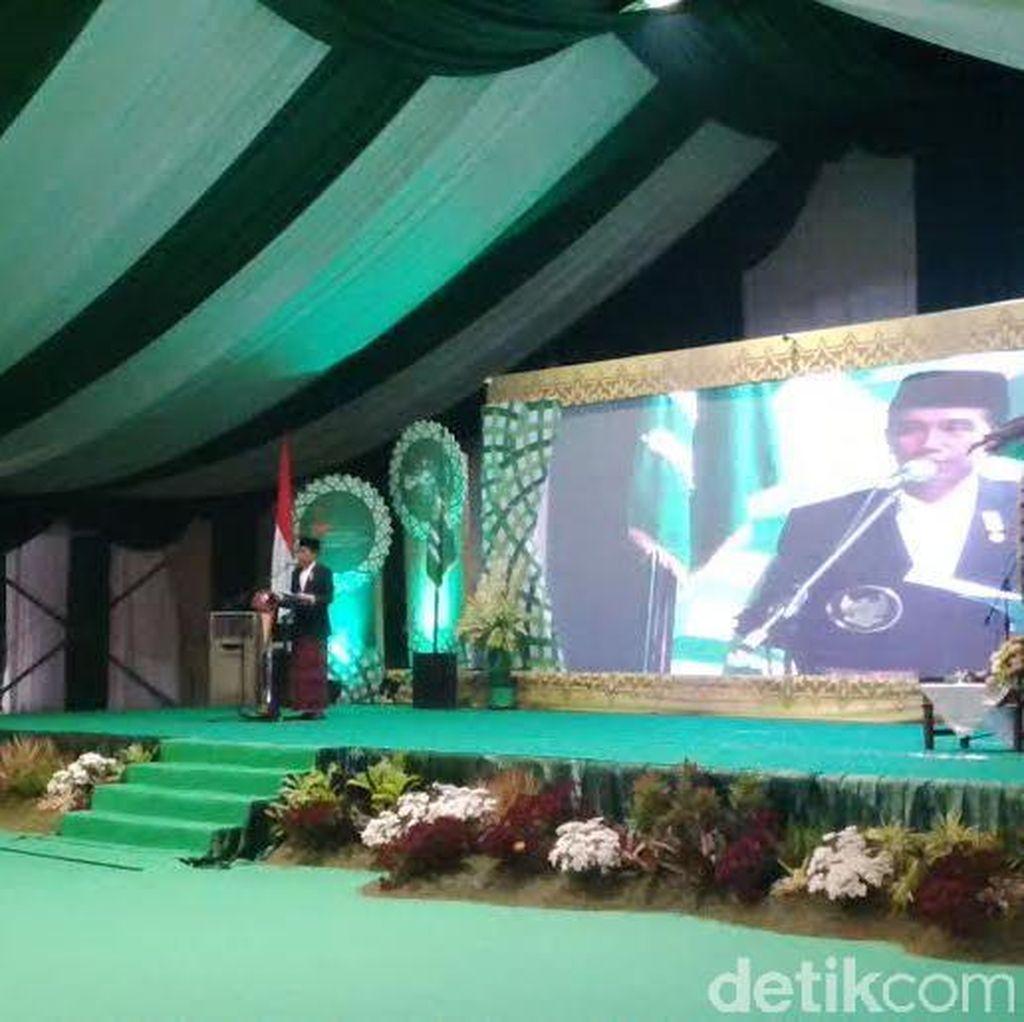 Presiden Jokowi Apresiasi Tema Muktamar ke-33 NU Islam Nusantara